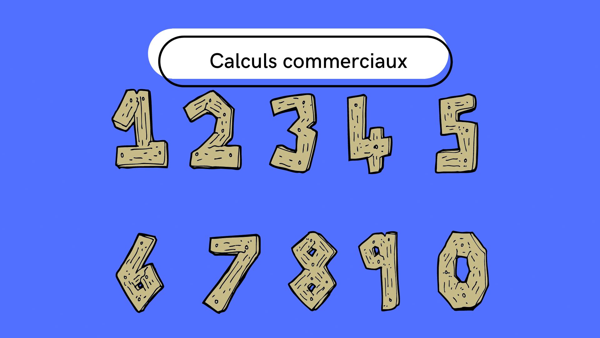 Calculs commerciaux