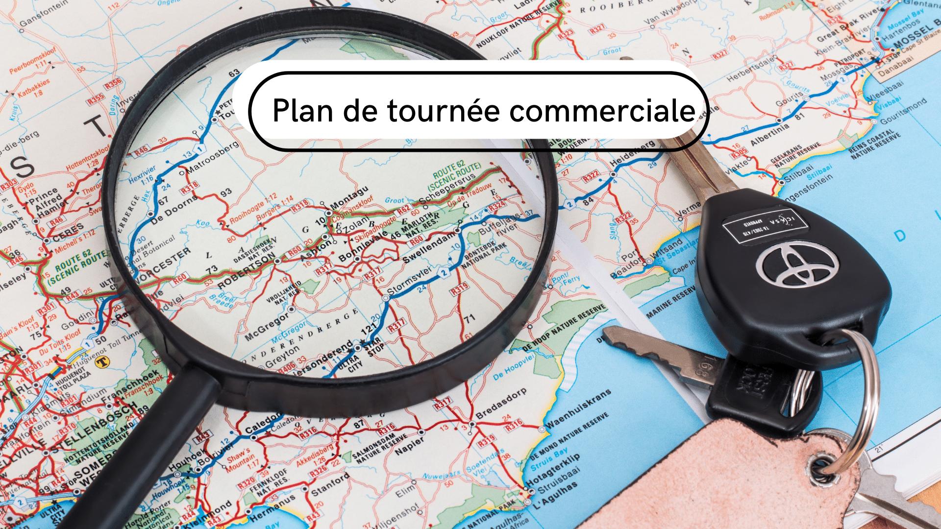 plan de tournée commerciale