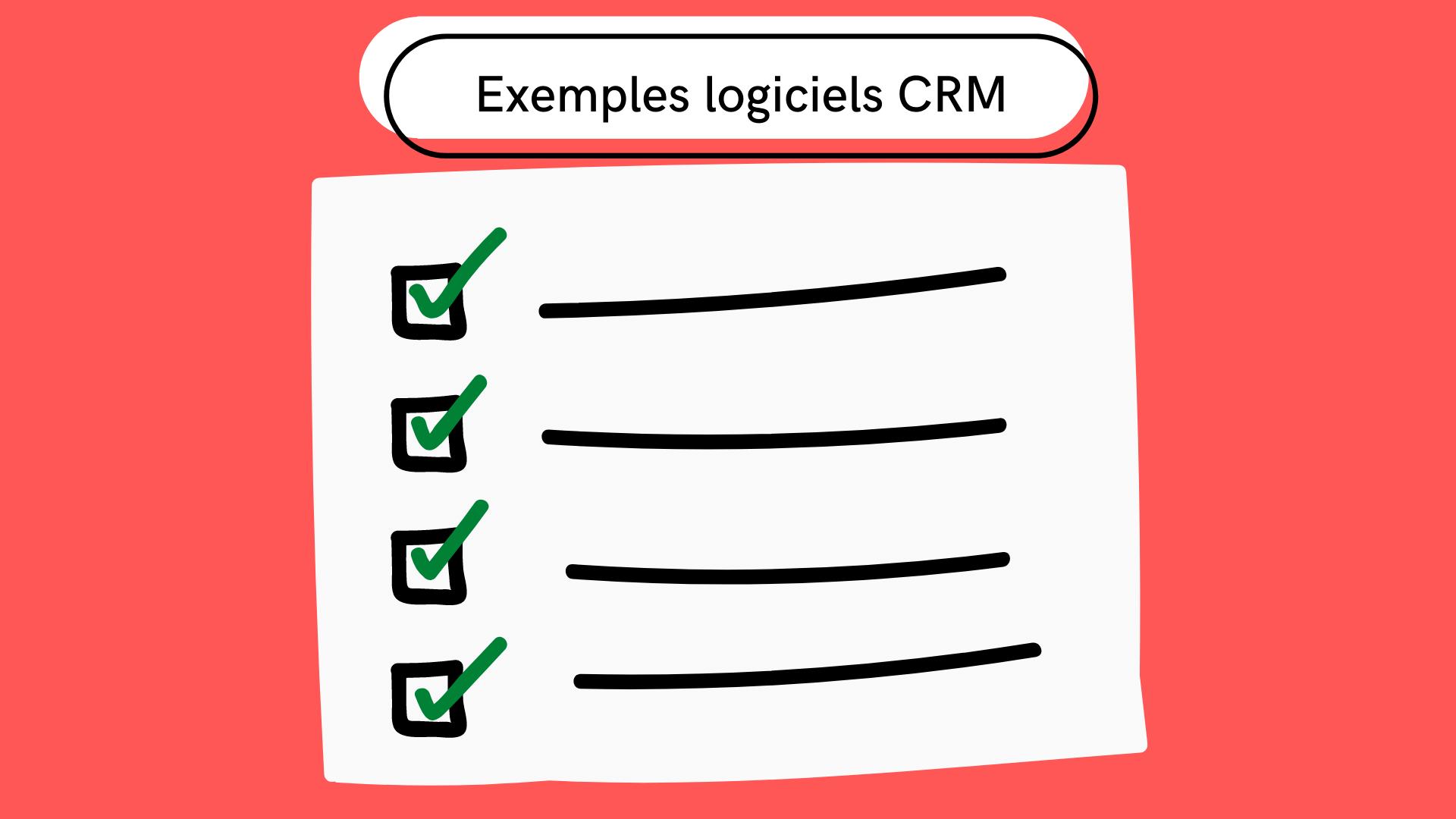 5 exemples de logiciel CRM